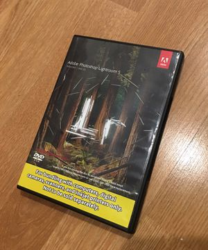 Adobe Lightroom 5 DVD software PC/Mac Like New Condition Rare for Sale in Tukwila, WA