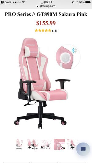 New pink Sakura gaming chair for Sale in Queens, NY