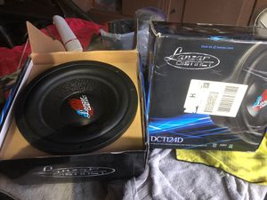 12 inch subwoofers for Sale in Pasadena, CA