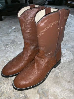 Justin women's size 6 Leather boots for Sale in Canton, GA