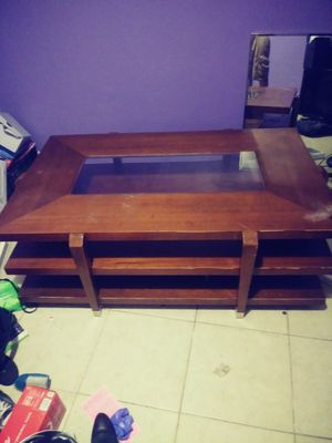 Coffe table/ Tv stand/ Gun decor up to you lol for Sale in Phoenix, AZ