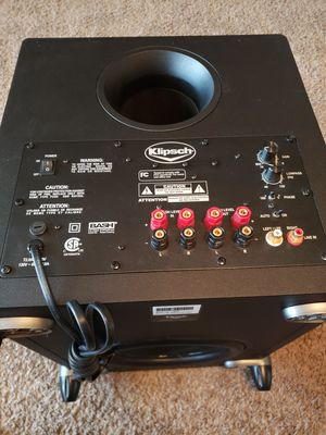 KLIPSCH Bash Sub10 Subwoofer, good condition for Sale in Peoria, AZ