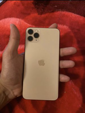 iPhone 11 Pro Max 64GB Unlocked Gold for Sale in Palo Alto, CA