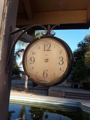 Antique Clock Thermometer for Sale in Oakdale, CA