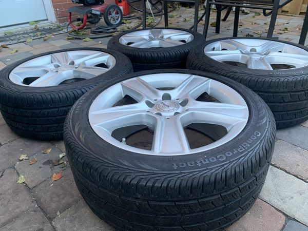 Mercedes Benz wheels rims oem Staggered size 17