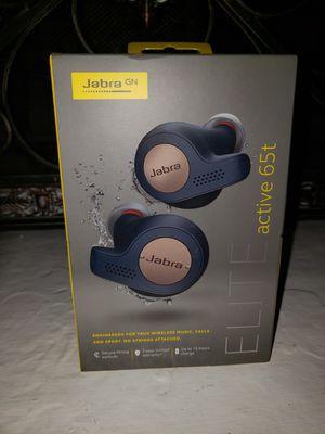 Jabra elite 65t headphones copper for Sale in Citrus Heights, CA