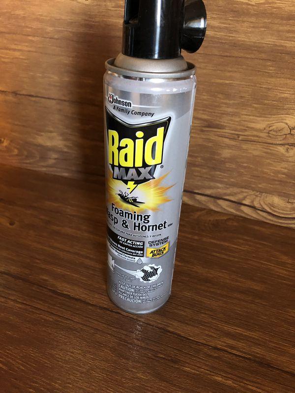 Raid max foaming wasp&hornet