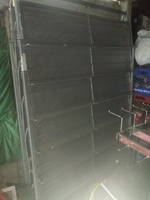 Large shoe rack double sided over 6ft tall- like you see in shoe stores for Sale in Columbus, OH
