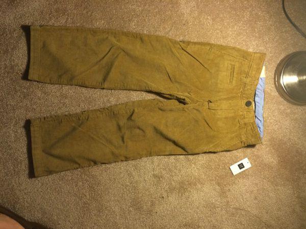 NWT GAP Kids Size 6 Khaki Corduroy Pants