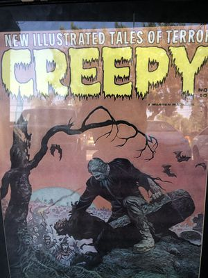 Creepy Magazine poster 1772 framed and sealed for Sale in Santa Ana, CA