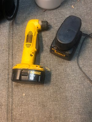 Dewalt 18 angle drill for Sale in Lafayette, CA