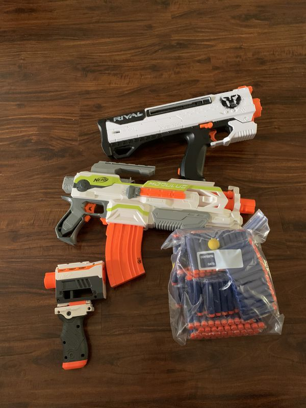 Nerf guns and brand new bullets