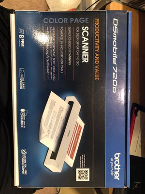 Mobile Scanner- New (unused) - Brother DSmobile 720D for Sale in Simi Valley, CA