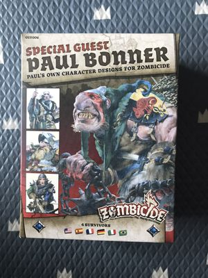 Zombicide Special Guest Paul Bonner for Sale in Lynnwood, WA