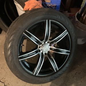 18 Wheels With Tires for Sale in Montgomery, IL
