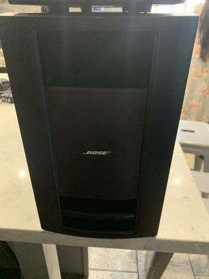 Bose Lifestyle Black PS28 III Powered Speaker System for Sale in Long Beach, CA