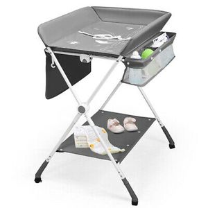 Folding Baby Changing Table with Storage for Sale in Diamond Bar, CA
