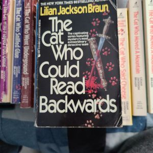 The Cat Who Could Read Backwards, Lillian Jackson Braun, Paperback for Sale in Kent, WA