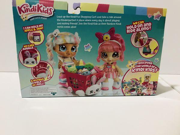 Kindi Kids Kindi Fun Shopping Cart Box Shopkins