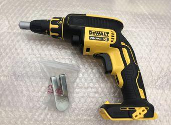 Dewalt 20-Volt MAX XR Cordless Brushless Drywall Screw Gun....$100.....pickup Only .... Brand New ..... for Sale in Fontana,  CA