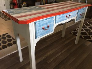 American Flag Furniture ntry / console table / desk for Sale in Fresno, CA