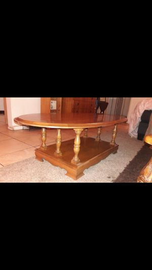 Wood coffee table for Sale in Buena Park, CA