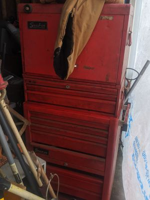Snap on toolbox with tools for Sale in Detroit, MI
