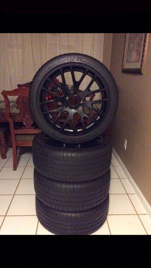 19in rims Michelin tires 240/40 for Sale in Sacramento, CA