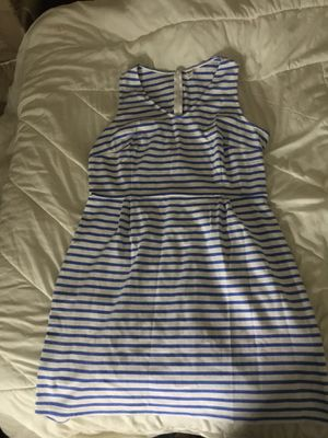 Bright blue and white dress Size XL for Sale in St. Louis, MO