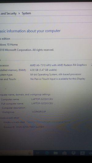 Hp 15 laptop $100 for Sale in Glendale, AZ