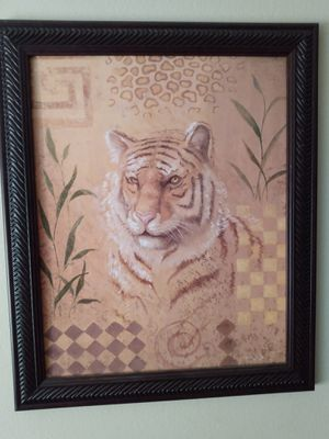 Tiger art picture set for Sale in Tampa, FL