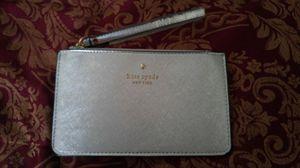 NEW 8 inch Kate Spade Silver Wristlet for Sale in El Paso, TX