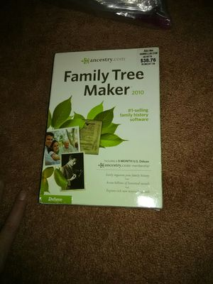 Ancestry family tree maker for Sale in Colorado Springs, CO