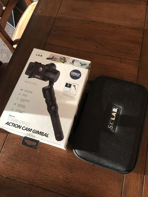 Sky lab gimbal stabilizing camera for go pro for Sale in Tacoma, WA