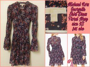 Michael Kors Georgetta Shirt Dress size XS for Sale in Sanger, CA