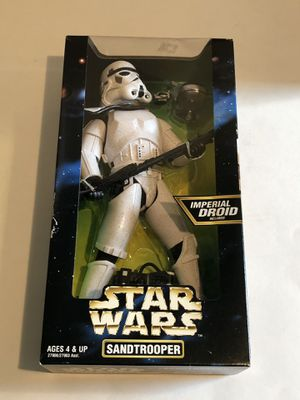 Set of 5 Star Wars Collectible Action Figures Original Box for Sale in Enumclaw, WA