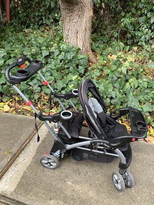 Sit and stand Stroller (you can attach a car seat) for Sale in Sacramento, CA
