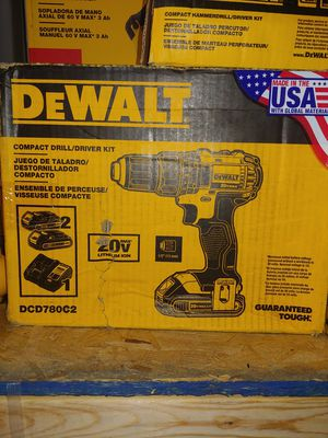"""Compact 1/2"""" Dewalt drill. 2x 2ah BATTERYS and charger. Brand NEW for Sale in Virginia Beach, VA"""