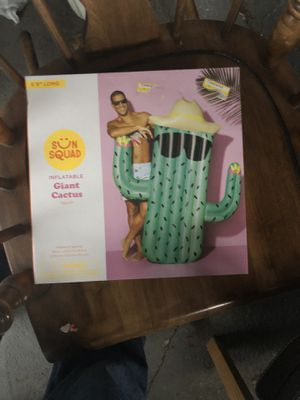 Large cactus pool float for Sale in Seven Hills, OH