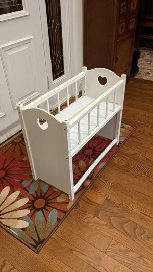 Wooden Doll Bed for Sale in Poolesville, MD