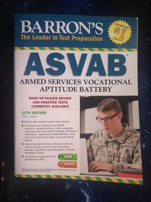 ASVAB Test Prep Book (CLEAN & NON-WRITEN) for Sale in Los Angeles, CA