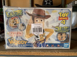 Brand New Ban Dai Toy Story 4 Woody Plastic Model Kit for Sale in Los Angeles, CA