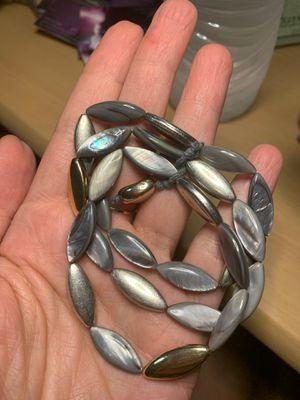 Mixed-metal MOP bracelet for Sale in Fresno, CA