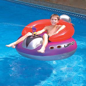 NEW Kids Inflatable Blow Up Ride On Lounge Chair w/ Squirt Water Gun Swimming Pool Lake Beach Toy for Sale in Randolph, NJ