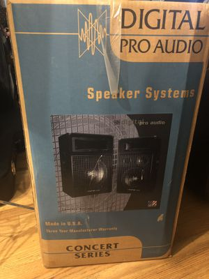 Digital Pro Audio Speakers DPA - 350 Watts - Concert Series- EXCELLENT for Sale in Kent, WA