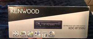 Kenwood car stereo for sale - Brand New - Still in box for Sale in Portsmouth, VA