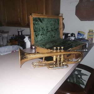 Elkhart Trumpet Good Condition Fully Functional No Leaking Selling Due To Upgrade for Sale in Glendale, AZ