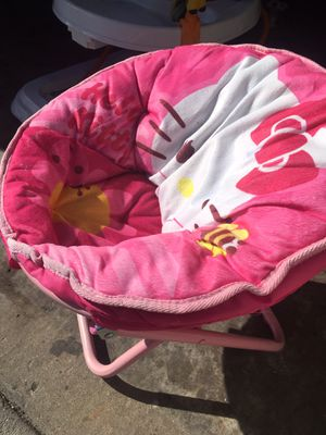 Baby girl seat chair hello kitty for Sale in Denver, CO