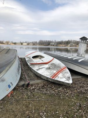 Sunfish Sailboat Hull for Sale in Bloomfield Hills, MI