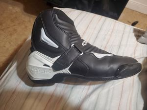 Alpine motorcycle boots men 12.5 for Sale in Hialeah, FL